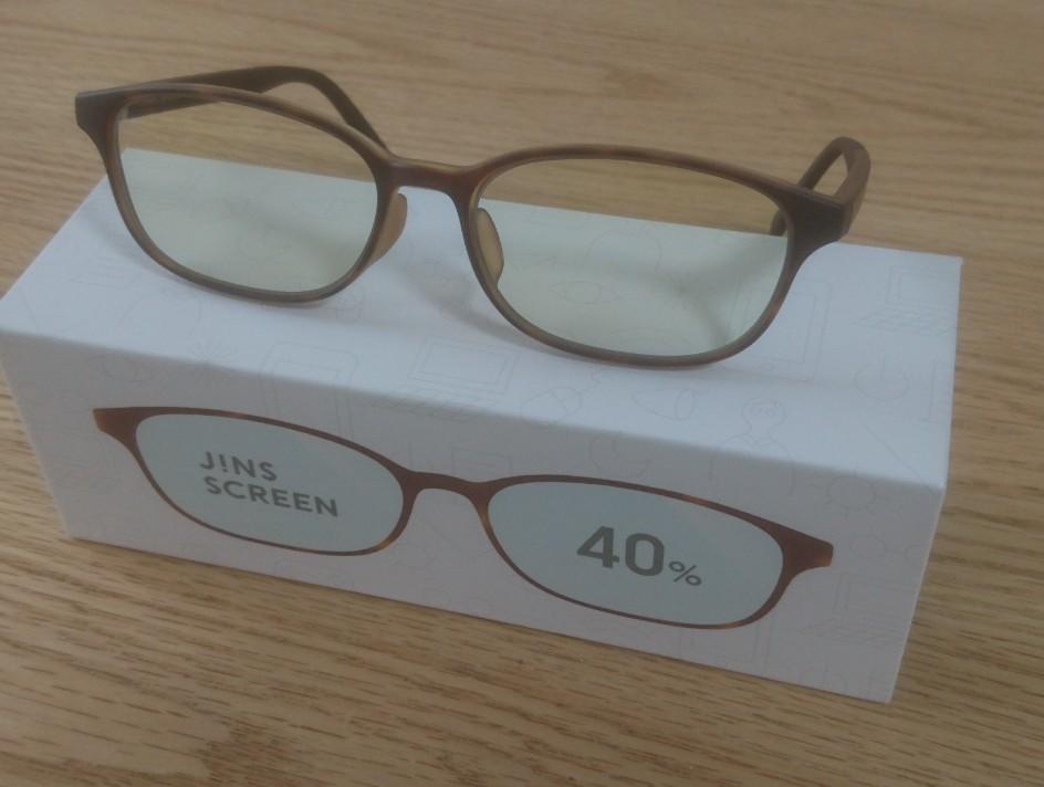 ブルーライトカット眼鏡を購入